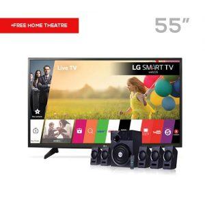 lg 55-inch satellite tv LG 55-Inch LED Satellite TV + F&D Home Theater lg 55 300x300