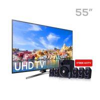 samsung 55 led uhd 4k smart tv Samsung 55-Inch LED UHD 4k Smart TV + F&D Home Theater samsung 55 200x200